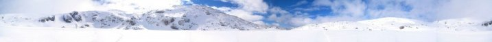 Panoramic Ice Landscape