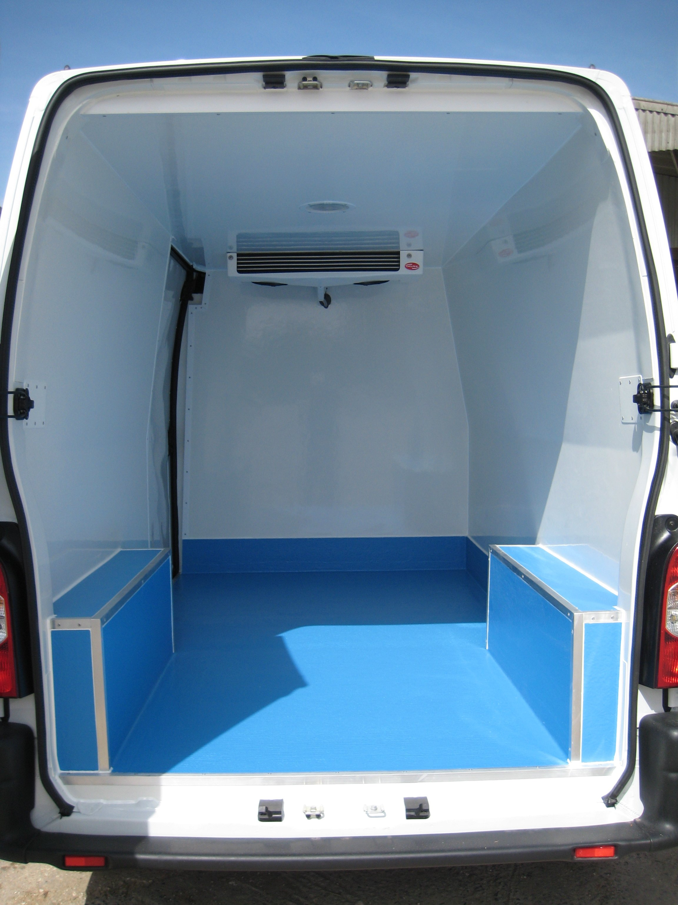 Panel Van Conversions | Refrigerated Panel Van Conversion