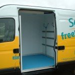 Panel Van Conversion with Multi-Temperature Lining