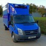 Refrigerated Blue Van Box Body