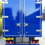 Refrigerated Vehicle Box Body back door