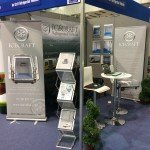 Display stand at The Source Trade show in Exeter