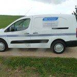 Clinical Waste Lining Van - NHS