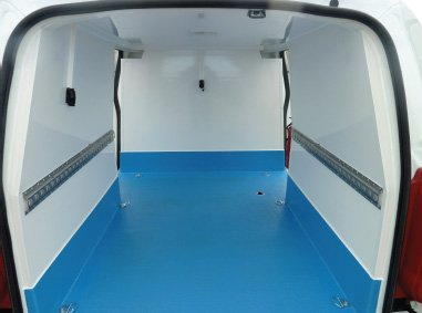 Refrigerated Panel Van Conversions With Chill Lining