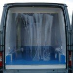 Refrigerated Panel Van Conversions with frozen Lining