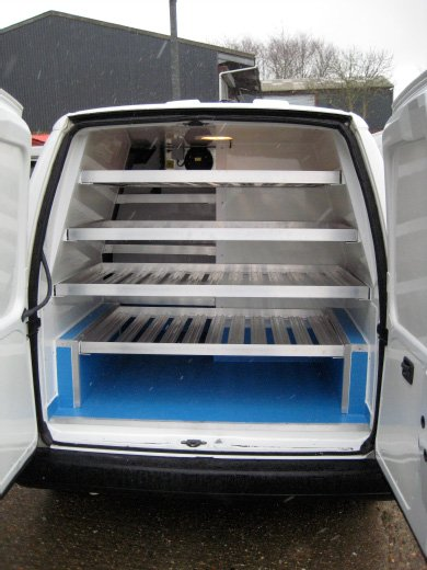 Panel Van Conversion With Multi Temperature Lining