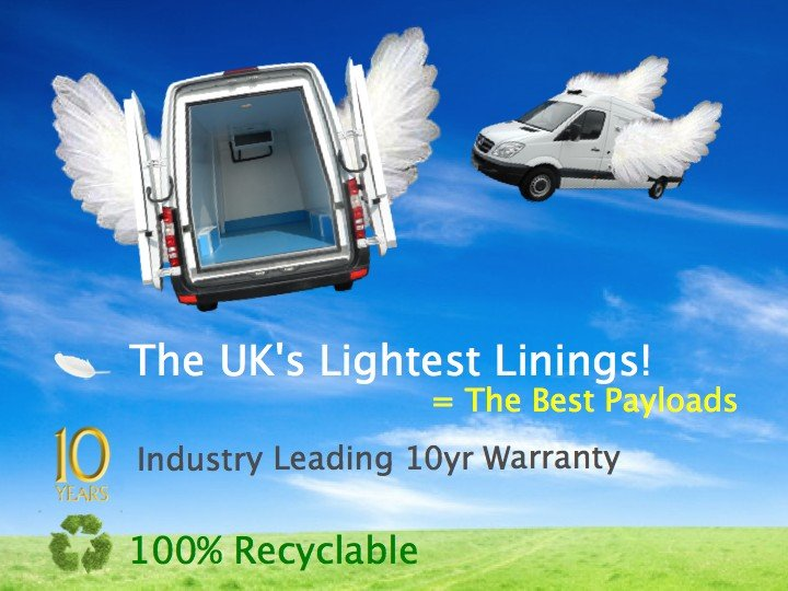 The UK's lightest linings make for the best payloads