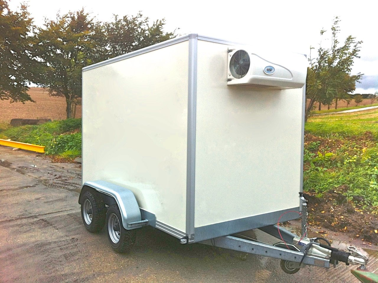 Refrigerated Trailers Refrigerated Conversions Icecraft Uk