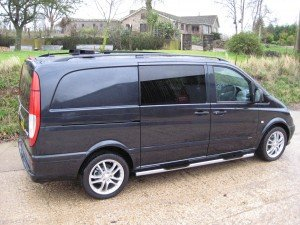 Mercedes-Benz Vito Sport-X Conversion - Side View