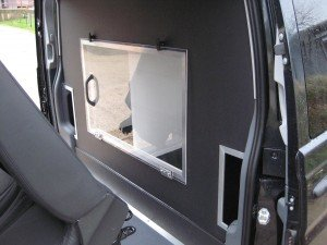 Mercedes-Benz Vito Sport-X Conversion - Access Behind Rear Seats