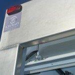 Refrigerated Vehicle Box Body Door Mechanism