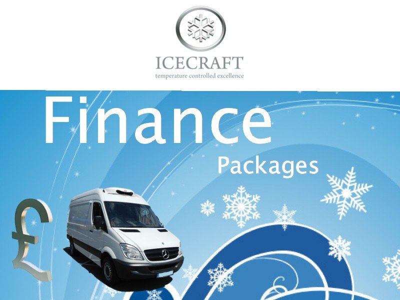 Our Refrigerated Van Finance Packages Options
