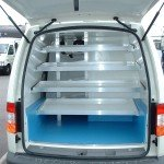 Shelving and Racking for Refrigerated Vehicle Conversion