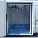 Refrigerated Vehicle Conversion with Pallet Width Side Freezer Door