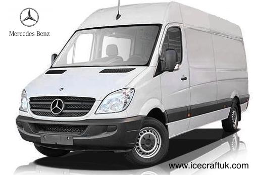 Mercedes benz sprinter 313cdi lwb high roof for Mercedes benz big van