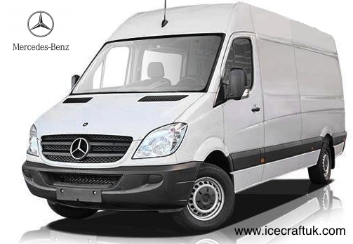 Mercedes lwb sprinter freezer van used refrigerated vans for Mercedes benz sprinter fuel economy