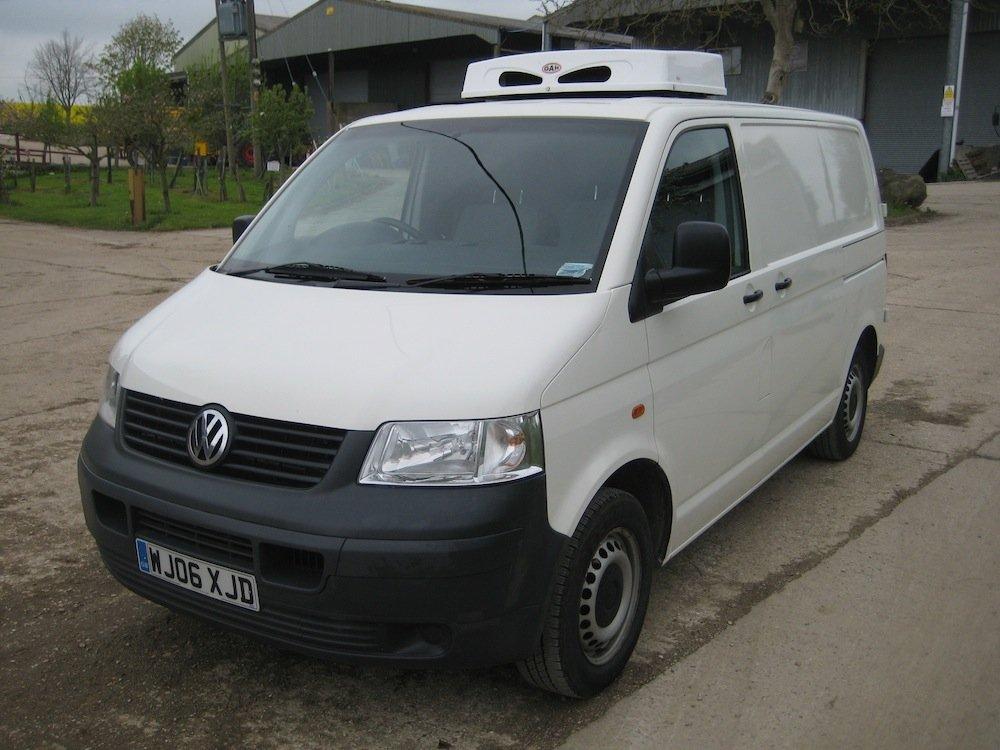 volkswagen t5 1 9 tdi refrigerated van. Black Bedroom Furniture Sets. Home Design Ideas